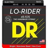 Струны для бас-гитары 45-105 DR MH-45 Lo-Rider Stainless Steel / Hex Core