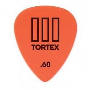 0.6 mm Dunlop Tortex III Orange