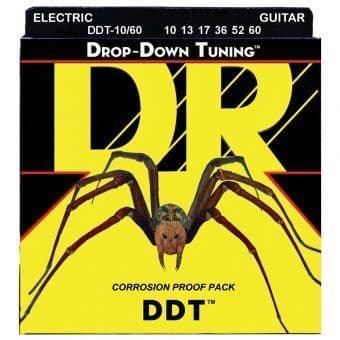 Струны для электрогитары 10-60 DR DDT-10/60 Drop-Down Tuning