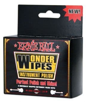 Ernie Ball 4278 Wonder Wipes Instrument Polish 6 pcs