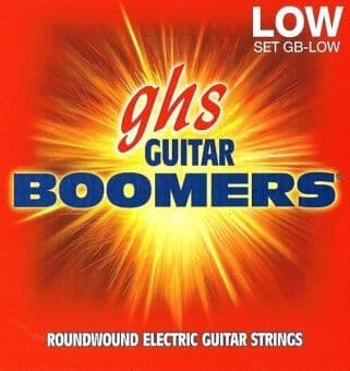 Струны для электрогитары 11-53 GHS Boomers GB-Low Roundwound