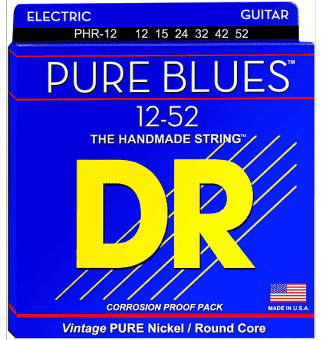 12-52 DR PHR-12 Pure Blues Vintage Pure Nickel/Round Core