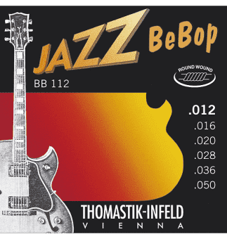 12-50 Thomastik-Infeld BB112 Jazz BeBop Round Wound