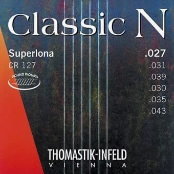 27-43 Thomastik CR127 Classic N Superlona Round Wound
