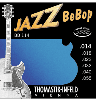 14-55 Thomastik-Infeld BB114 Jazz BeBop Round Wound