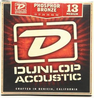 13-56 Dunlop DAP1356 Phosphor Bronze Medium