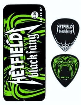 1.14 mm Dunlop PH112T114 Hetfield Black Fang Ultex 6 pcs