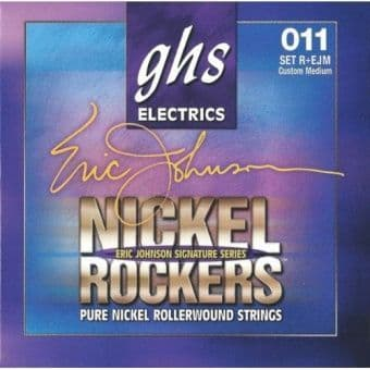 Струны для электрогитары 11-52 GHS Nickel Rockers Eric Johnson Signature Series R+EJM Custom Medium