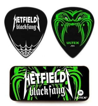 0.94 mm Dunlop PH112T094 Hetfield Black Fang Ultex 6 pcs