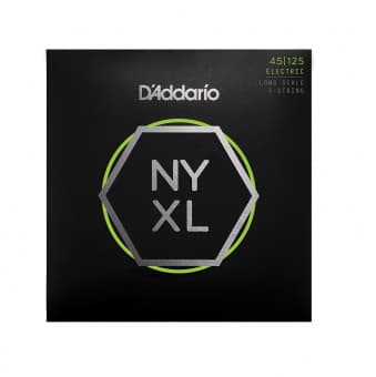 45-125 D'Addario NYXL45125 NYXL Long Scale 5-String