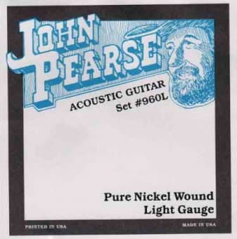 12-54 John Pearse 960L Pure Nickel Wound Light Gauge