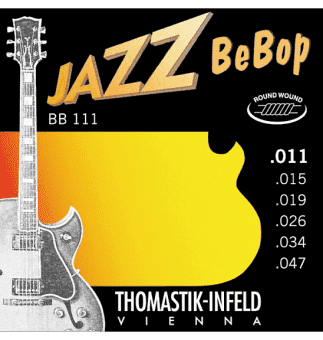 Струны для электрогитары 11-47 Thomastik-Infeld BB111 Jazz BeBop Round Wound