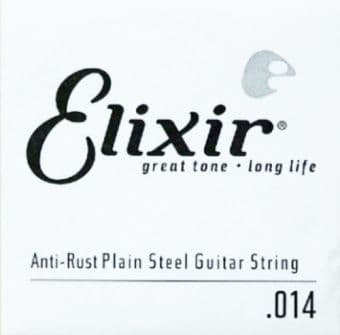 Струны поштучно 14 Elixir 13014 Anti-Rust Plain Steel String
